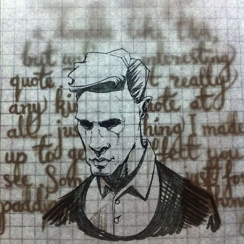 An experiment in analogue layers #nofilter #doodle #sketch #mattmurdoch #daredevil #handdrawntype Doodle Sketch Nofilter Handdrawntype Daredevil Mattmurdoch