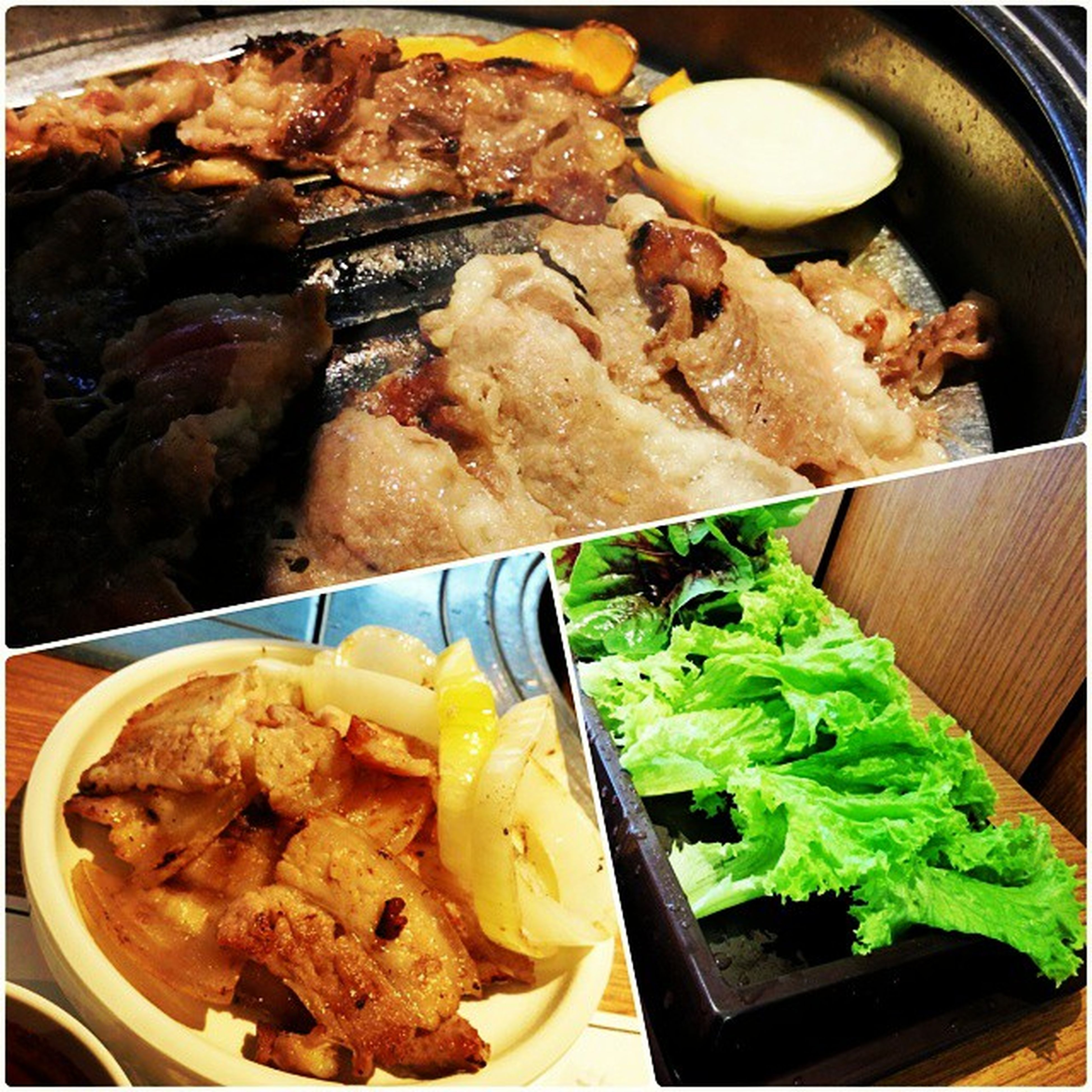 Bornga's signature Woo Samgyop& pork belly! Give me meat! Rawr! Burpple Bornga Starvista Borngastartvista porkbelly woosamyop koreanbbq
