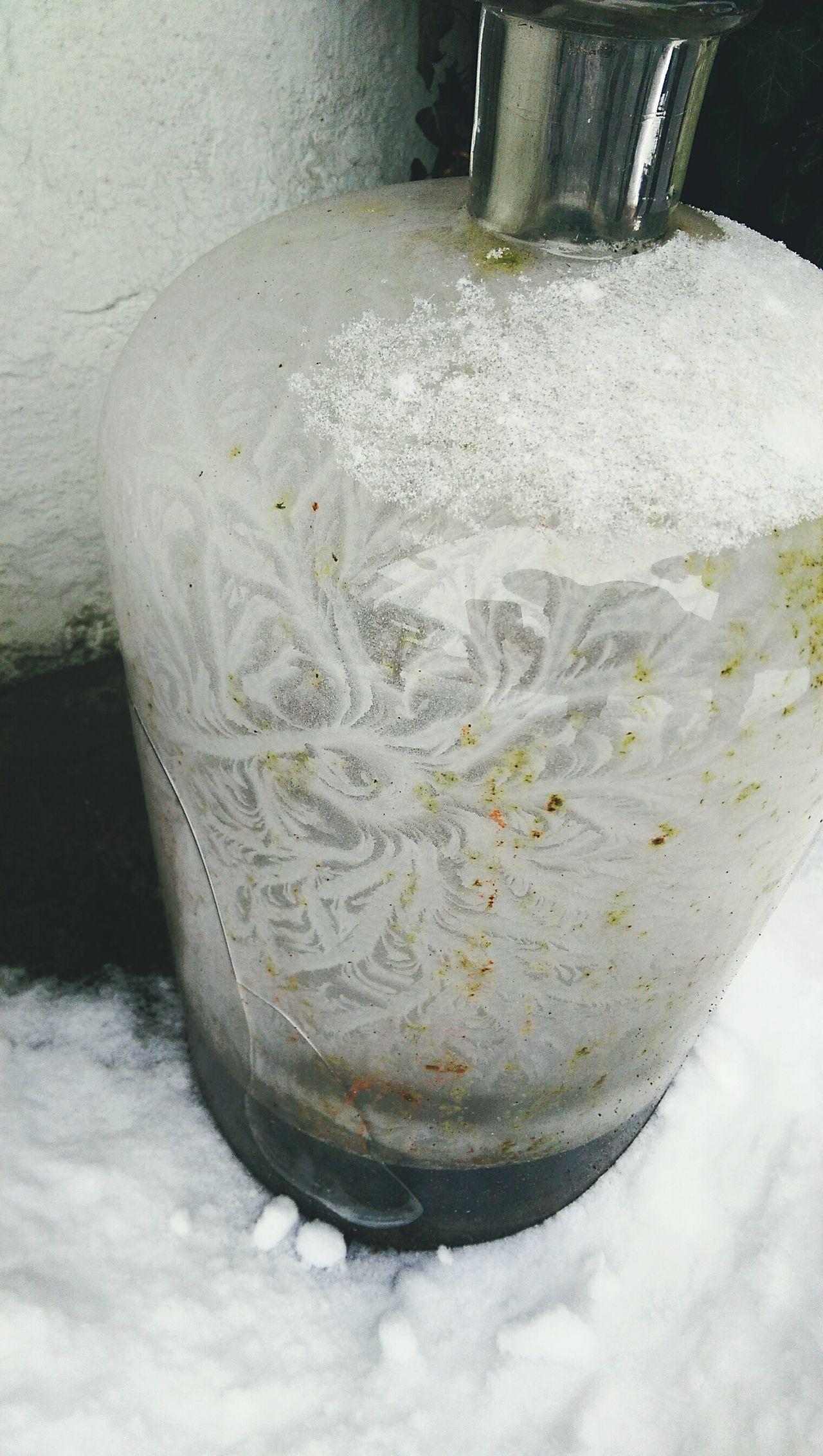 Iceflower Bottle EyeEmNewHere