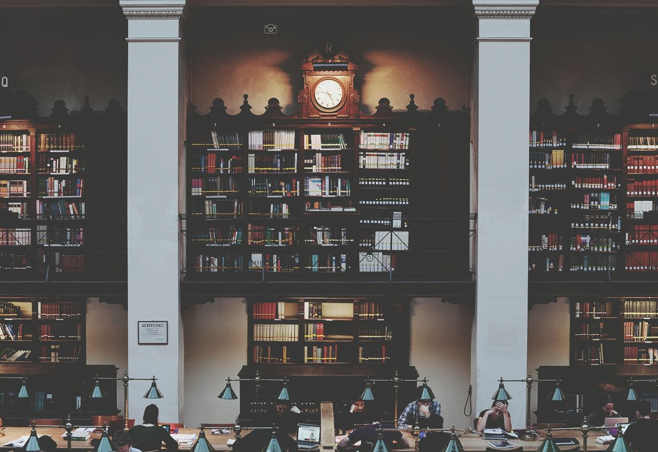 Narime Books Library University Vintage Bibliophile