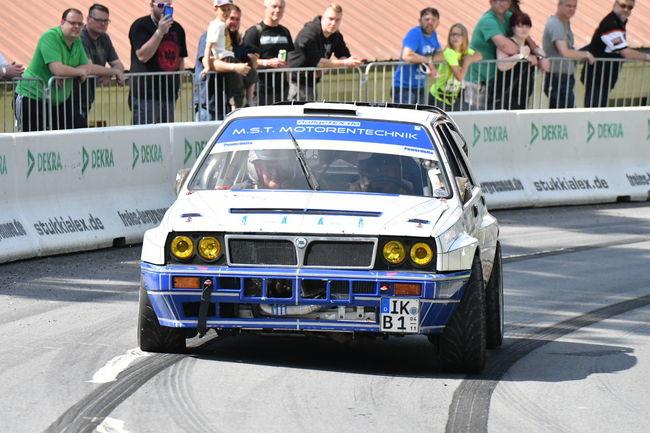 Lancia Delta Lancia Rallye Bergrennen