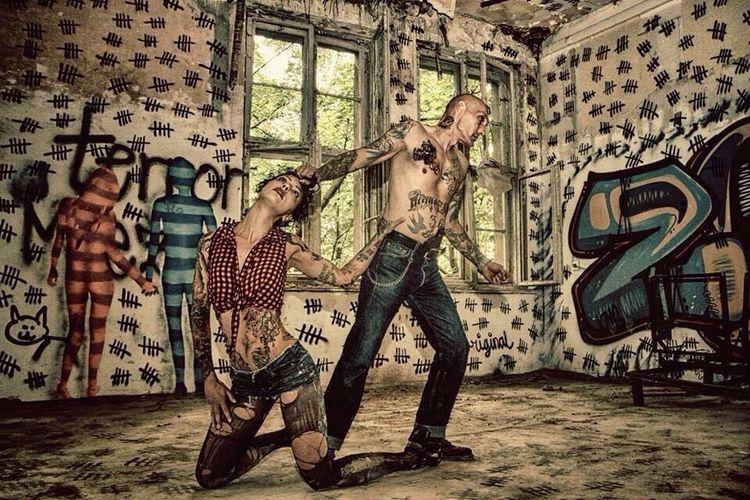 Graffiti Adult People Skinhead N Punk Skinhead Slave Adults Only Lostplaces Love ♥ Tattoo