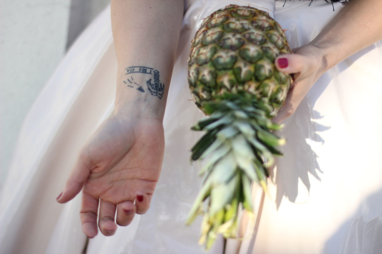 Ananas Close-up Detail Human Hand Summer Summer Vibes Summer ☀ Summertime Sunbeam Sunbeams Sunlight Tattoo