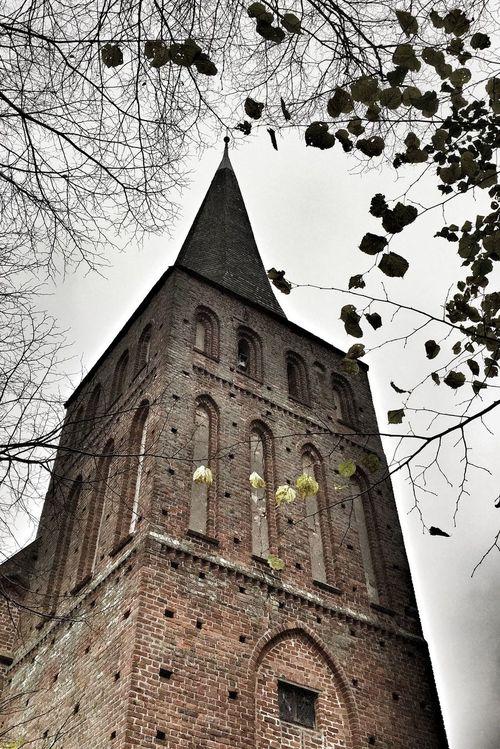 Brick Church Church Tower Insel Rügen