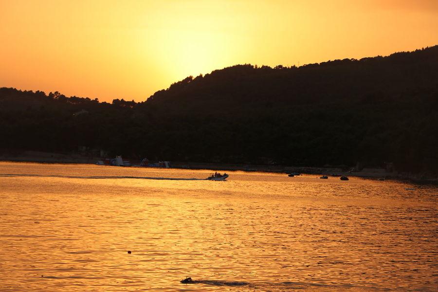 Sunset Sunset Orange Color Landscape Outdoors Horizon Beautiful Nature Nature The Week On EyeEm