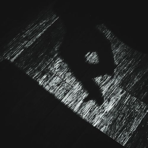 Shadow Dark Textured  Backgrounds Indoors  Close-up Night Smokers Hand