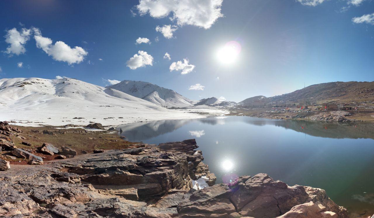 Mountain Oukaimden Morocco