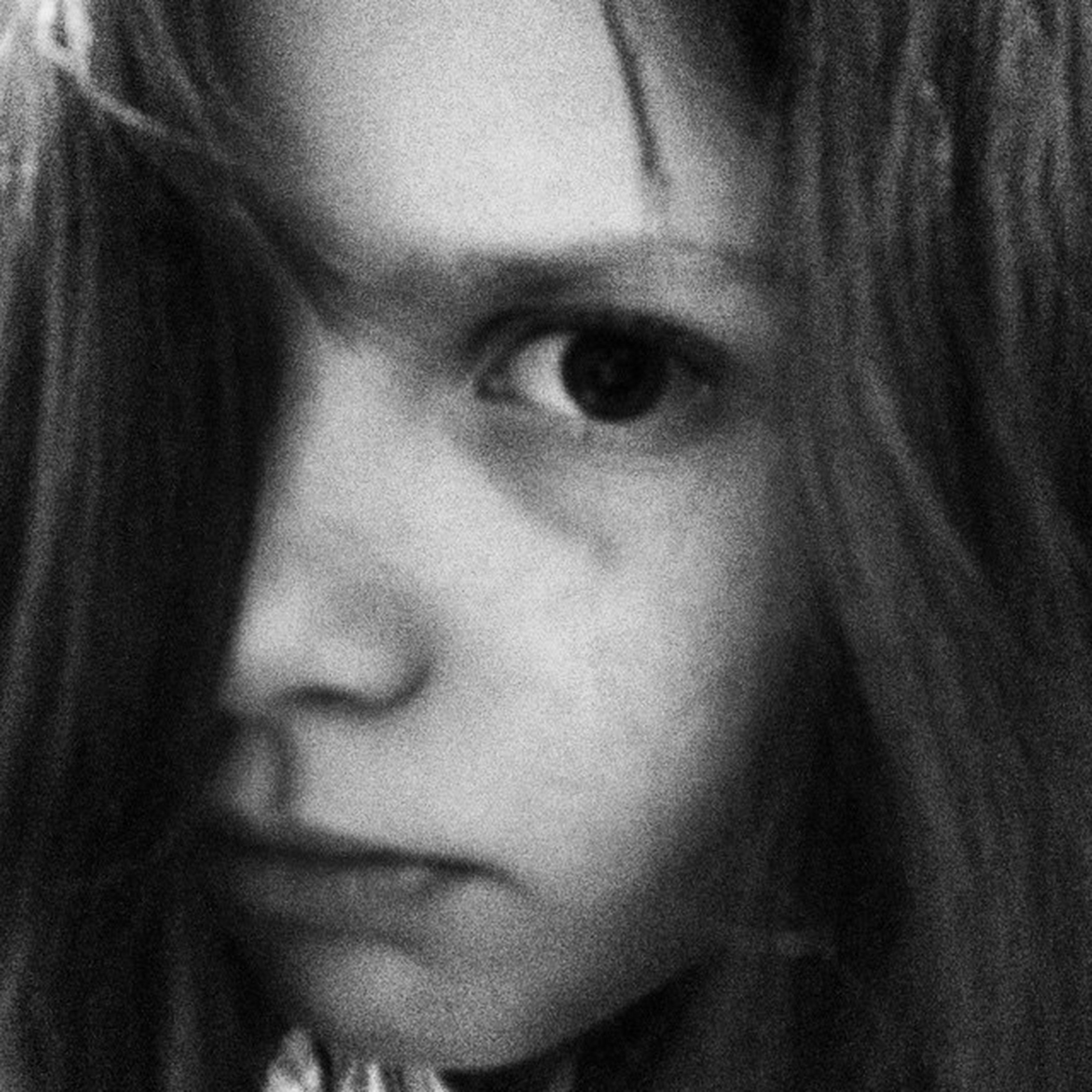 Blackandwhite Portrait Ilovemydaughter Pericoloscampato Occhiokiller Uffamamma