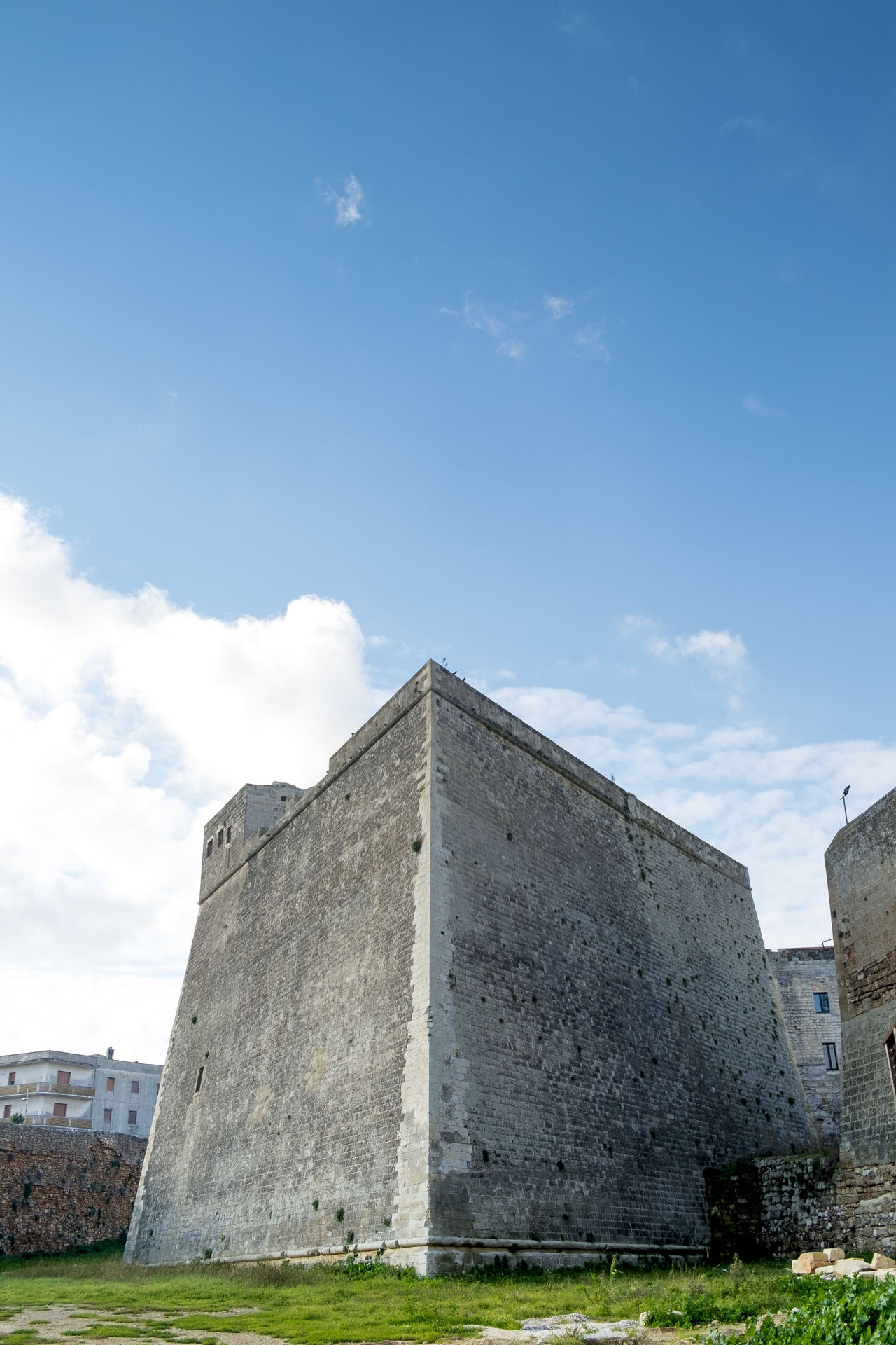 Ancient Civilization Architecture Building Exterior Built Structure Business Finance And Industry Castle Cloud - Sky Day History Italy No People Otranto Outdoors Puglia Pyramid Salento Sky Tomb Tourism Travel Travel Destinations Travel Photography