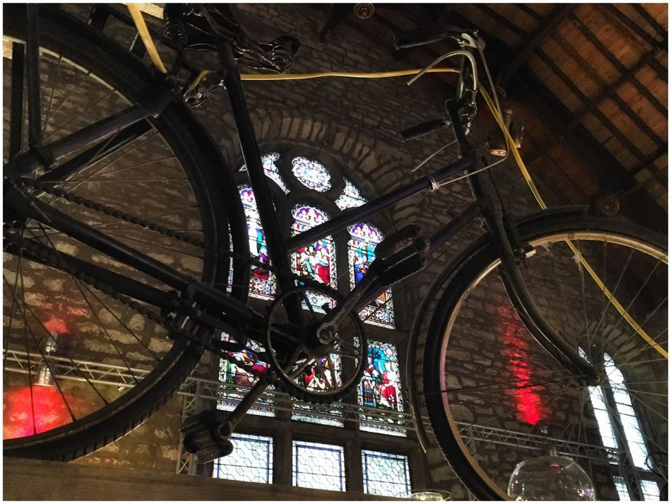 Stained Glass Bicycle Bike Light And Shadow Colors Colours Window Old Buildings Eye4photography  EyeEm EyeEm Gallery Check This Out