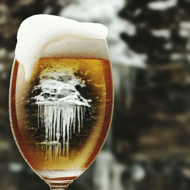 Icy Cold Beer Beerporn Beer Time Beer Anyone?  This Is My Art!!! Artistic Expression Artistic Edit Icicles Coctail Hour Happy Hour