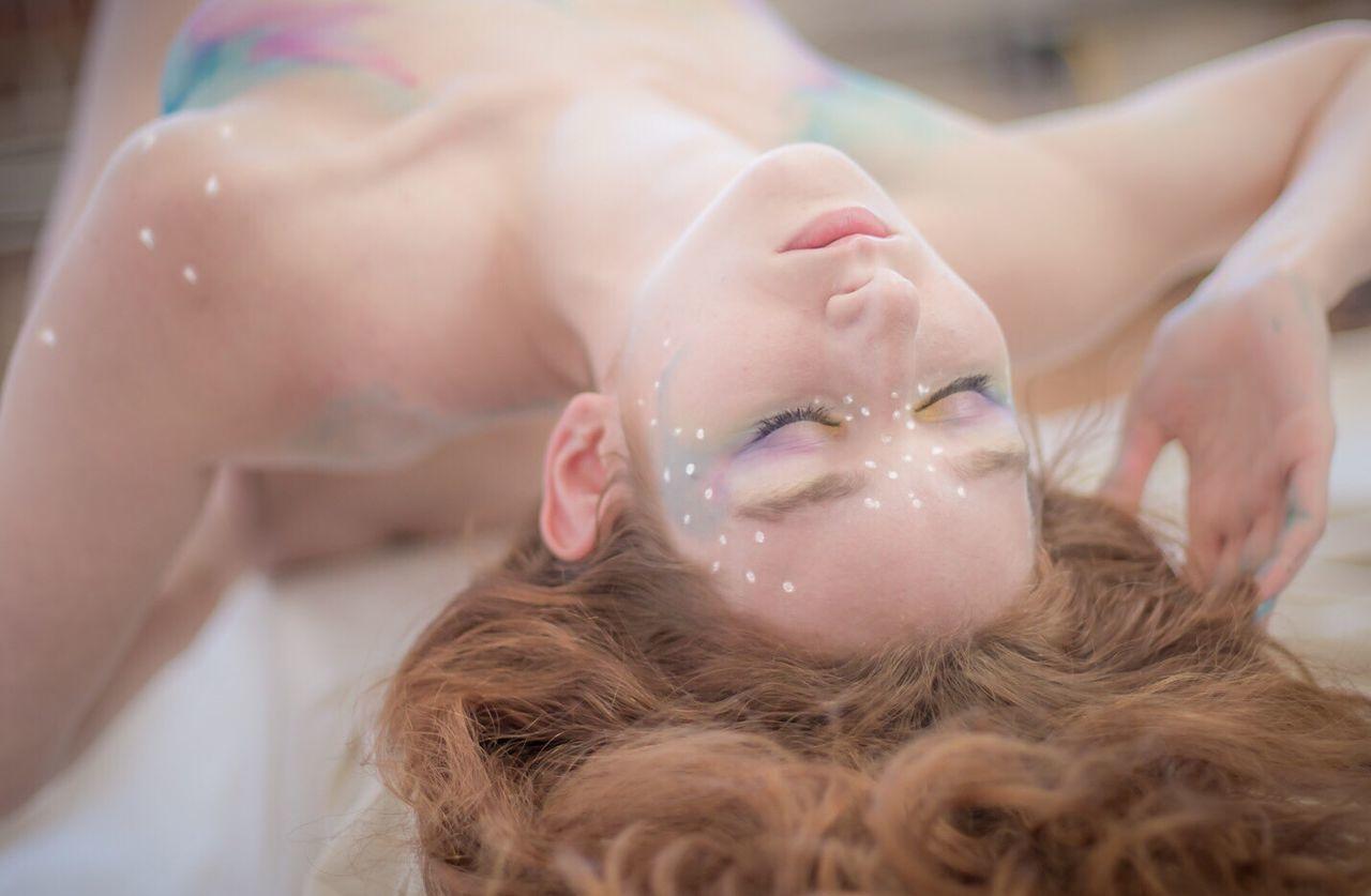 Painted Bianca Glamour Boudoir Photography Bodypaint