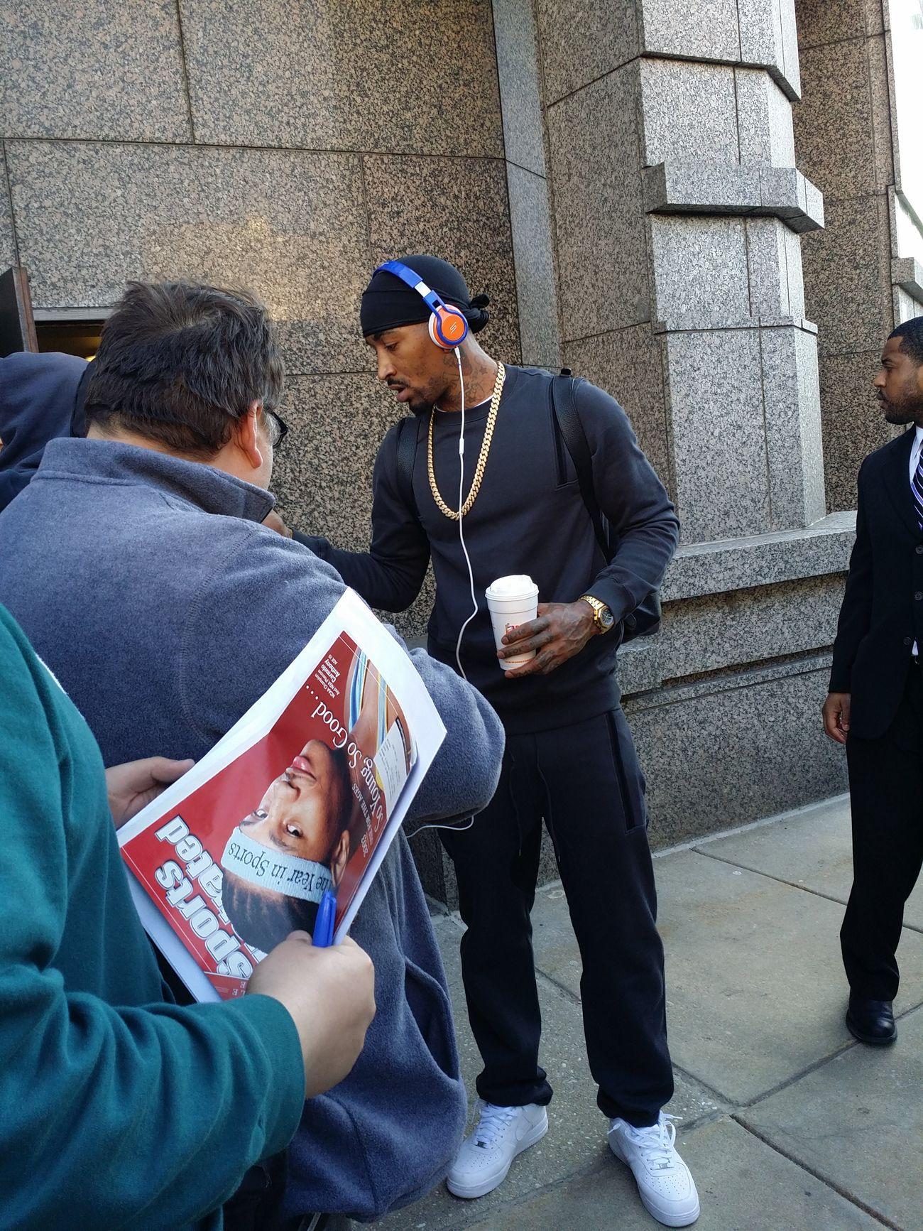 NyKnicks Jrsmith 215 Philly
