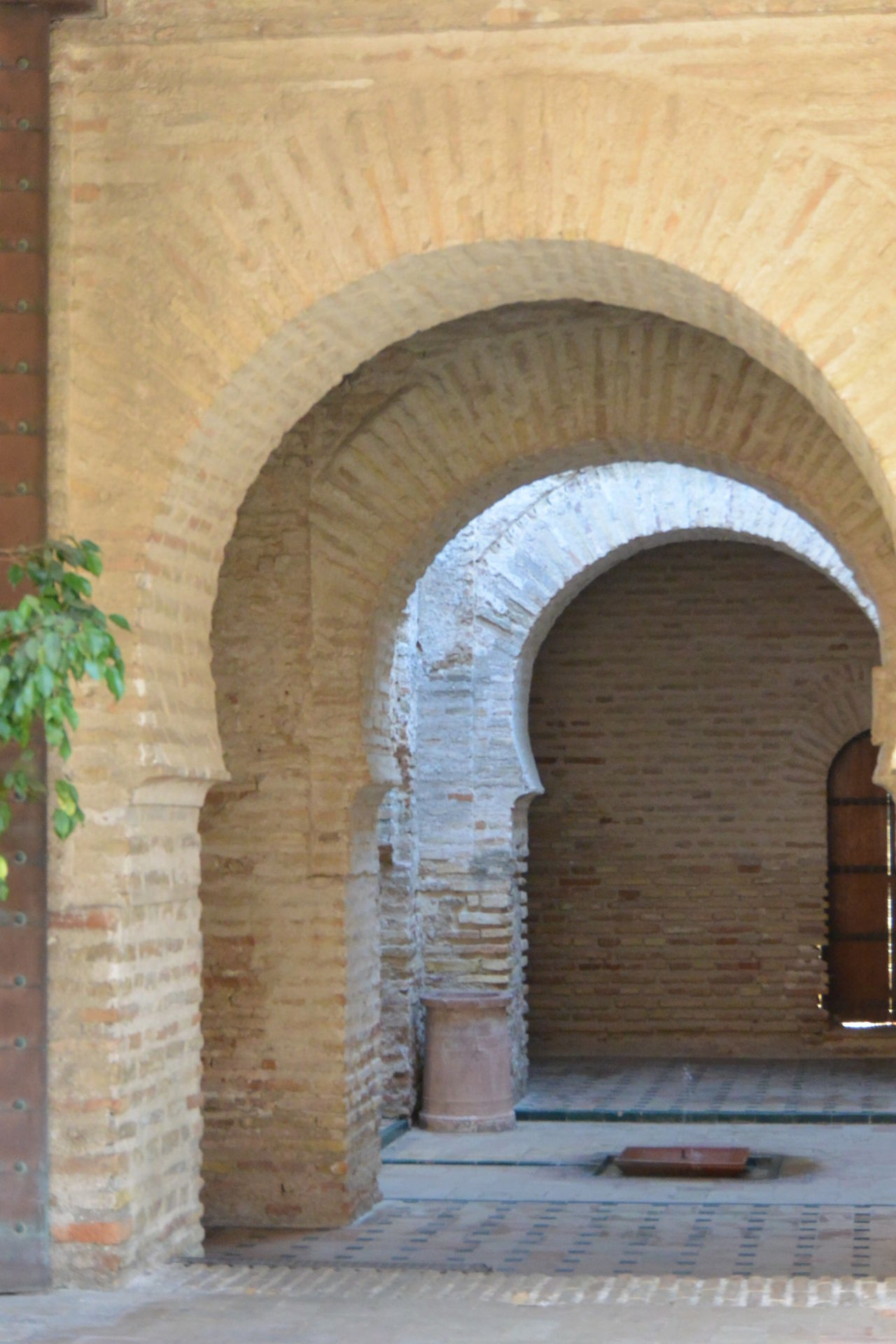 Alcazar Arch Architecture Archway Brick Built Structure Day Eye4photography  From My Point Of View Mosque Nikon No People Purist In Photography Purist No Edit No Filter Repetition The Purist (no Edit, No Filter)