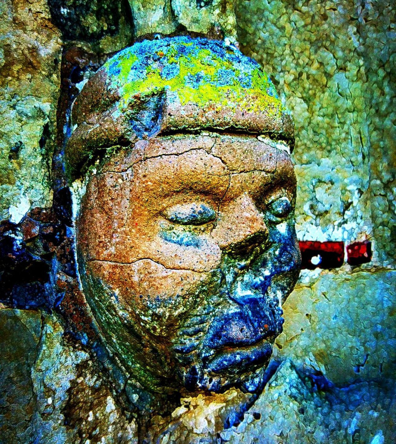 Full Frame Close-up Outdoors Medieval Medieval Church Stone Stoneface Face Church Outdoor Photograghy Old Building  Me, My Camera And I Mobilephotography PhonePhotography No People Building Exterior Medieval Face Medieval Art MedievalTown Medieval Times Weathered Aged Deterioration