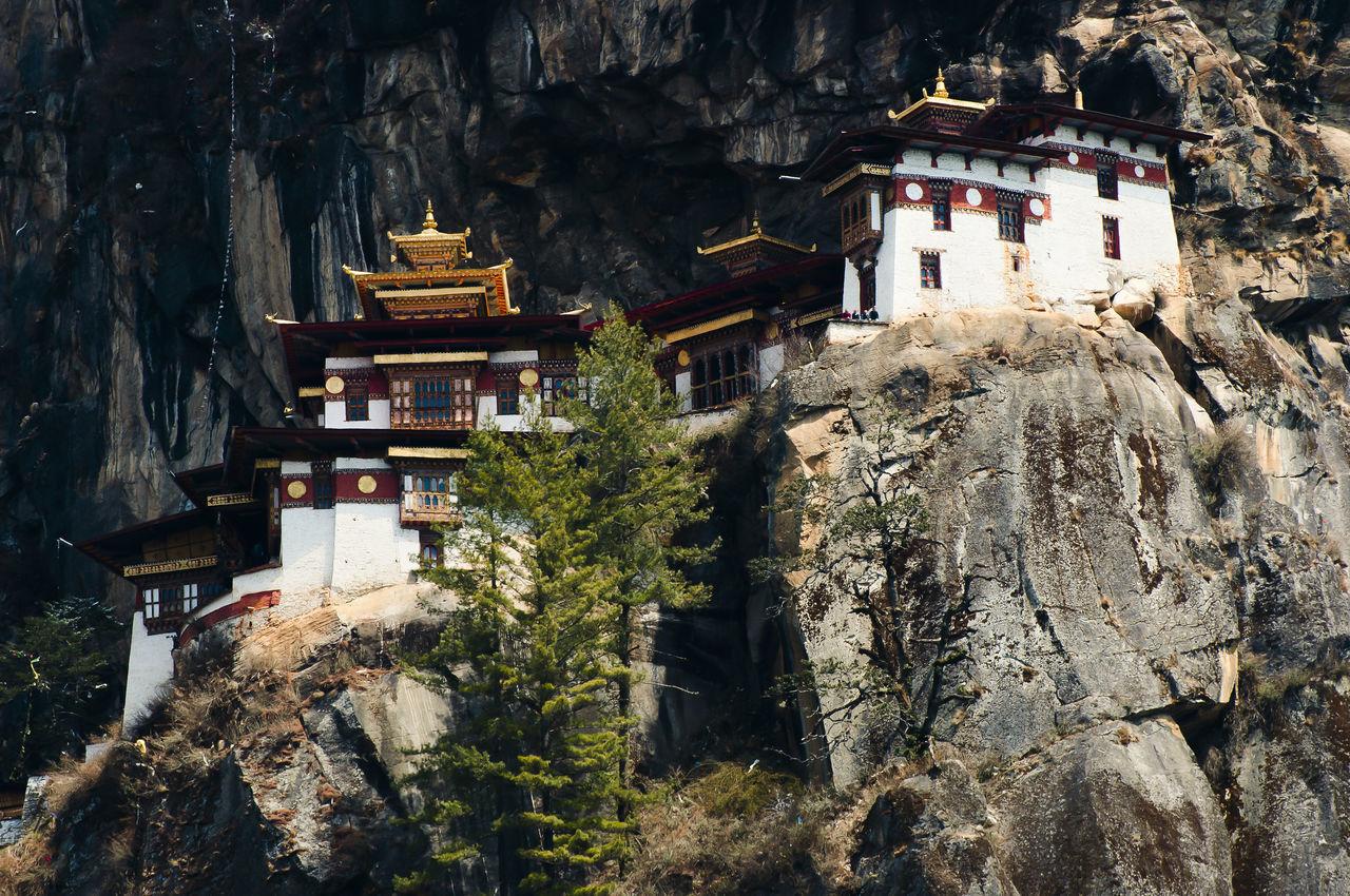Taktsang Monastery (Tiger's Nest) - Bhutan Taktsang Taktsang Monastery Tiger's Nest Bhutan Buddhism Building Exterior Cliff Mountain Paro Temple