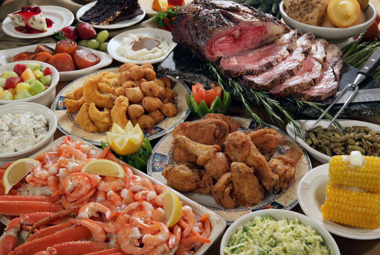 Food Feast at home. Close-up Day Feast Food Food And Drink Freshness Indoors  Meat Meat! Meat! Meat! No People Ready-to-eat Shrimps Variation Variety Visual Feast