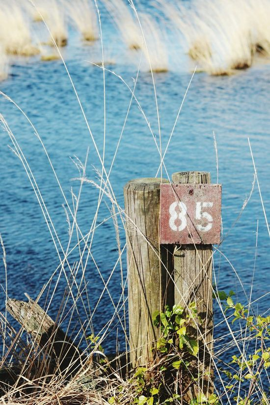 Nature Water Safety Security Sea No People Outdoors Day Number Swamp Moorland Moor  Farn Blue Green Color Landscape Landscape_Collection Signboard