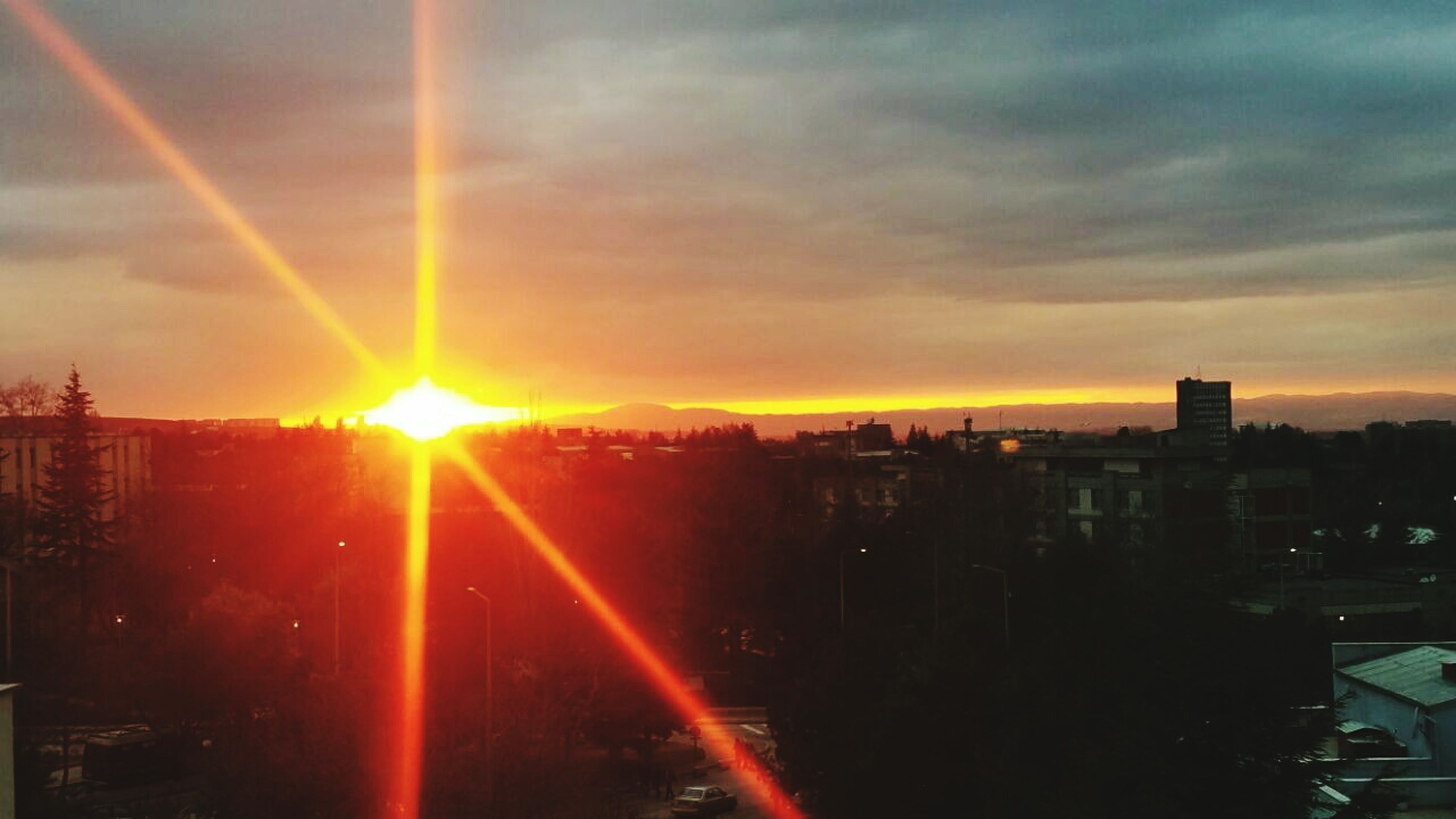 This view gives me happiness more than any other thing can provide... Sunset Campus Life Cityofsurvival Ankara/turkey Dormitory Life Dear foreign friends from all over the world..Eventhough this city and this country is going through really tough times;the sun still shines perfectly as it always have been.We are still proud and still in love with our country. I know, many people don't care about us but i also know that there are the ones with really good heart,conscience and humanity inside. Prayforankara ❤
