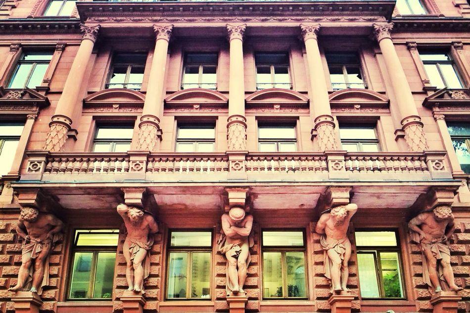 Quite the façade! #Frankfurt