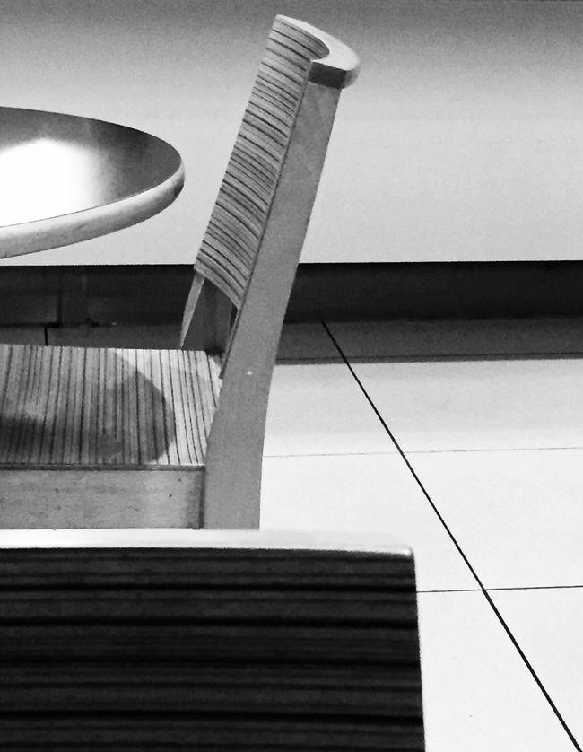 Cafe Blackandwhite Monochrome