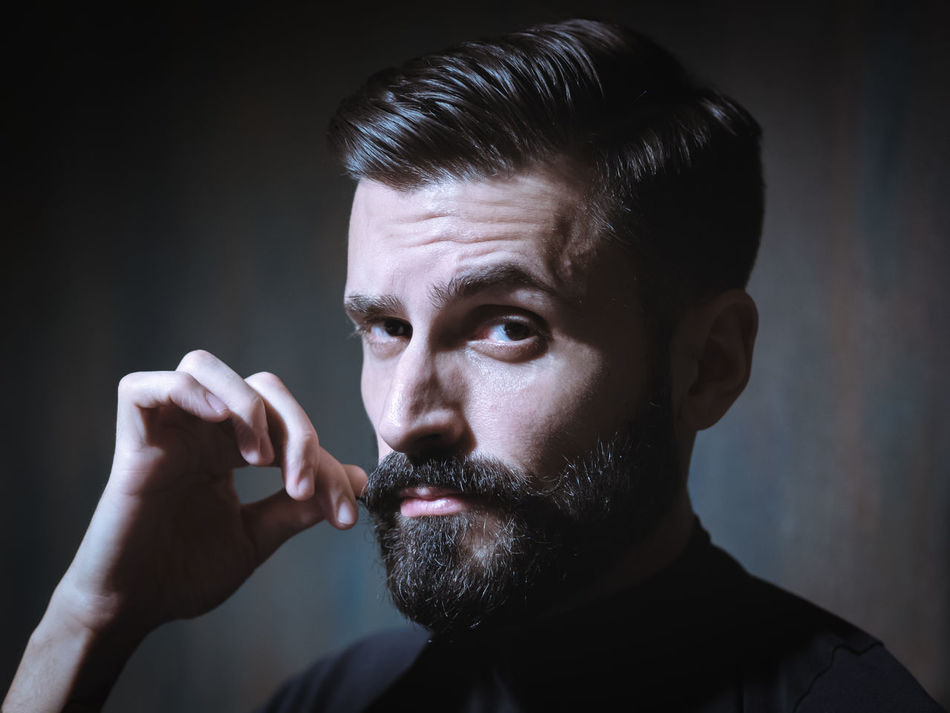 Beautiful stock photos of schnurrbart,  35-39 Years,  Adult,  Adults Only,  Beard