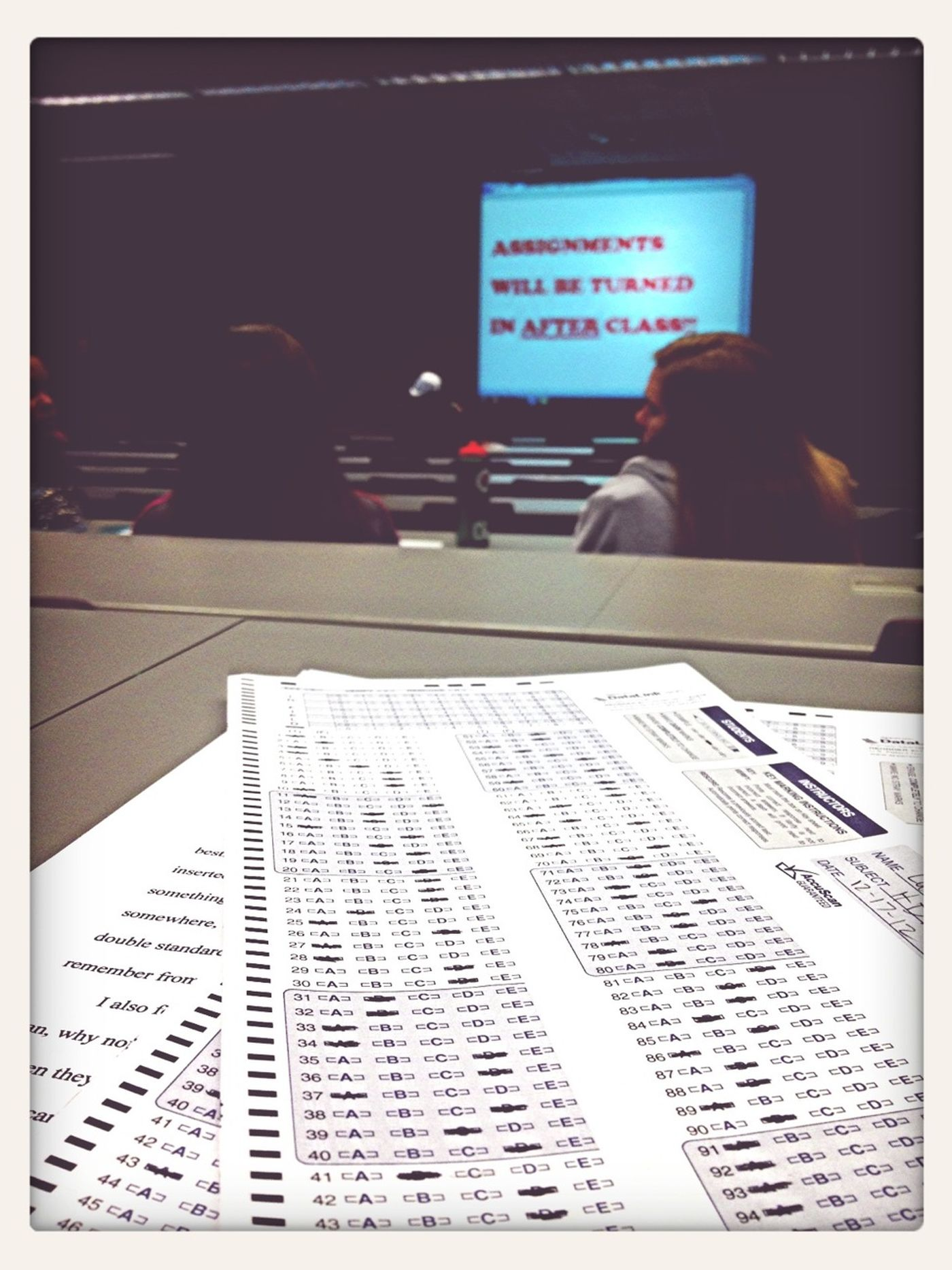 Last Class Of The Semester!