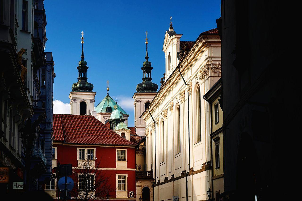Kostel in Prague, Oldtown Historical Building Traveling Travel Photography Eye4photography  EyeEm Best Shots Lifestyle Enjoying Life
