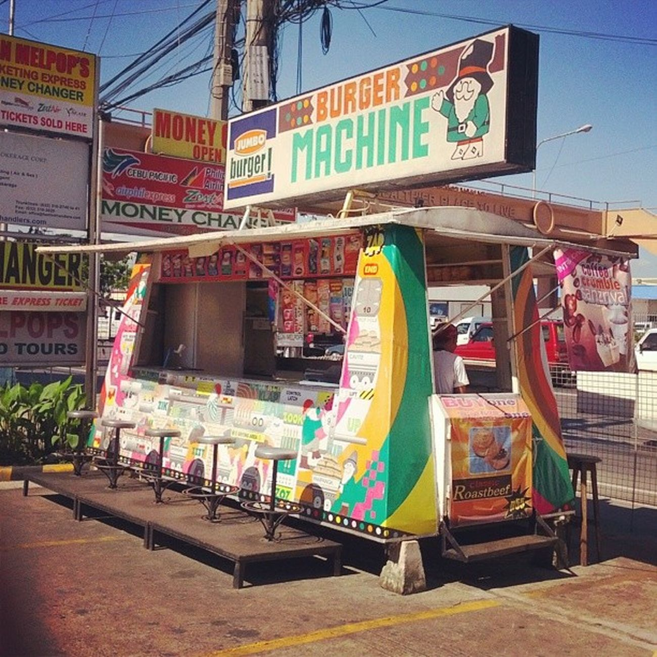 The Adventures of a Leprechaun and the Burger Machine! ManilaTrip