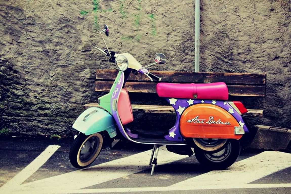 Italian Photos Scooter Vintage Style Italy Vintage Scooter