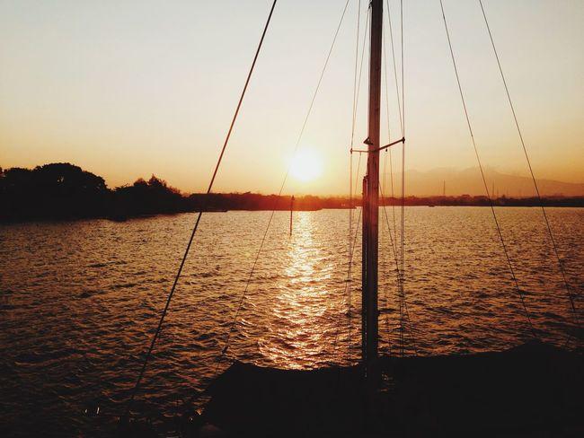 Enjoying The Sun Starting A Trip Relaxing Hanging Out Summer Going Sailing