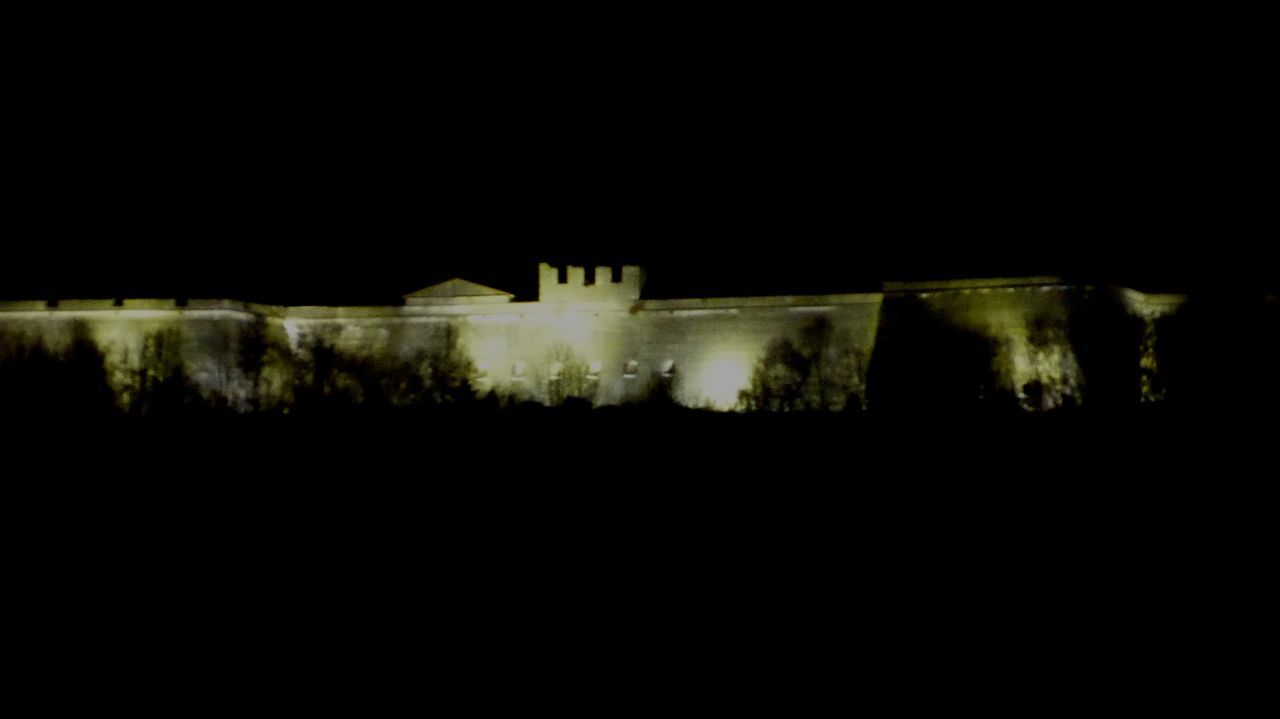 Festung Rothenberg, Schnaittach, Nacht