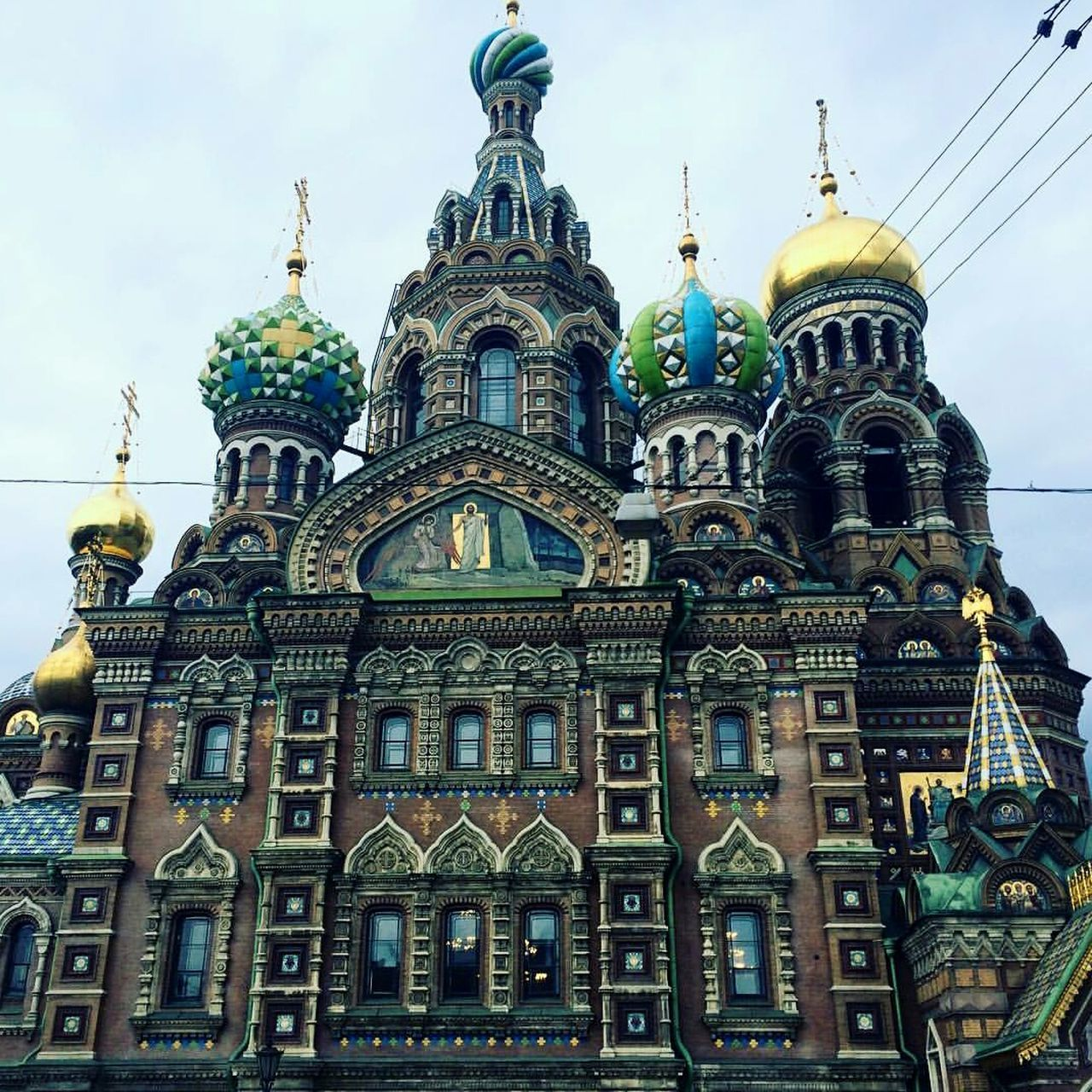 Architecture No People Saint Petersburg Church Of The Savior Blood