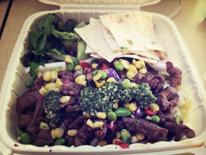 Dishndash Mediterranean Food Lamb Shwarma so bomb, visit in sunnyvale. Dish n dash