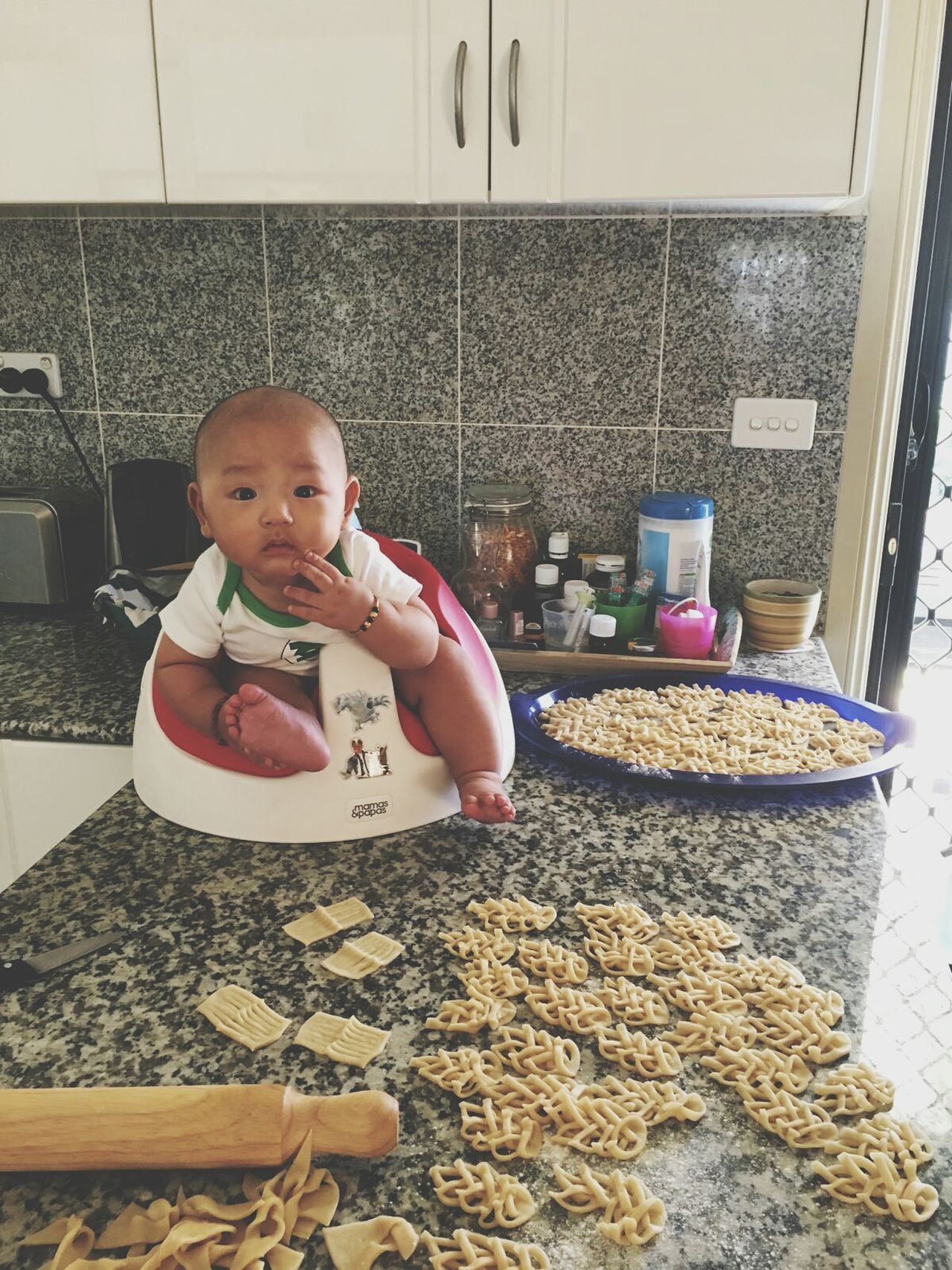 Since Tibetan new year is round the corner. Baby Domestic Kitchen NewYear Tibetan  Babyboy Baby Photography Mynephewiscuterthanyours First Eyeem Photo EyeEmNewHere EyeEmNewHere EyeEmNewHere