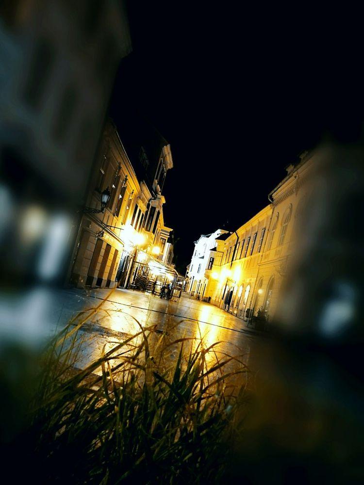 Cities At Night Night Lights City Street Nigthpic