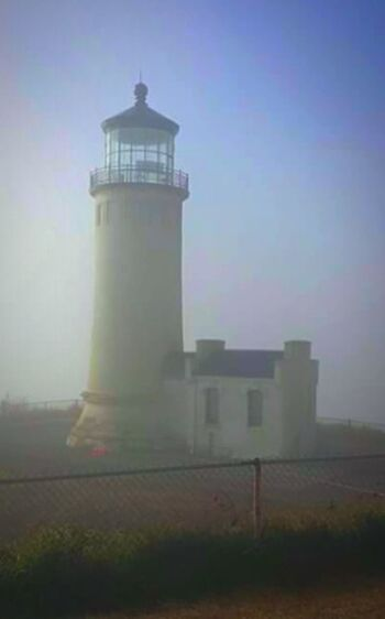Fog Building Exterior Lighthouse_captures Light House Fog Oregon Lighthouses Architecture Tower Built Structure Lighthouse Illuminated Getty Images EyeEm Gallery Streemzoofamily Oregon Coast Oregon Explored Oregonlife Oregon Beaches Idyllic Shootermag Beach From My Point Of View Still Life Photography Original Experiences Scenics Amazing View Flying High