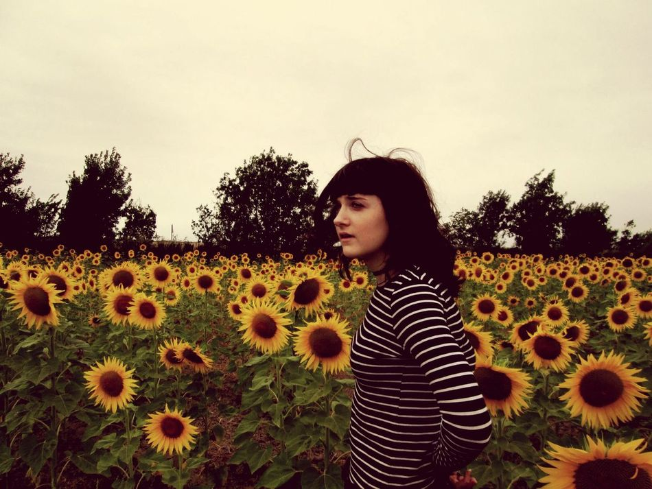 Me :)  Sunflower Field France 2015  Holiday