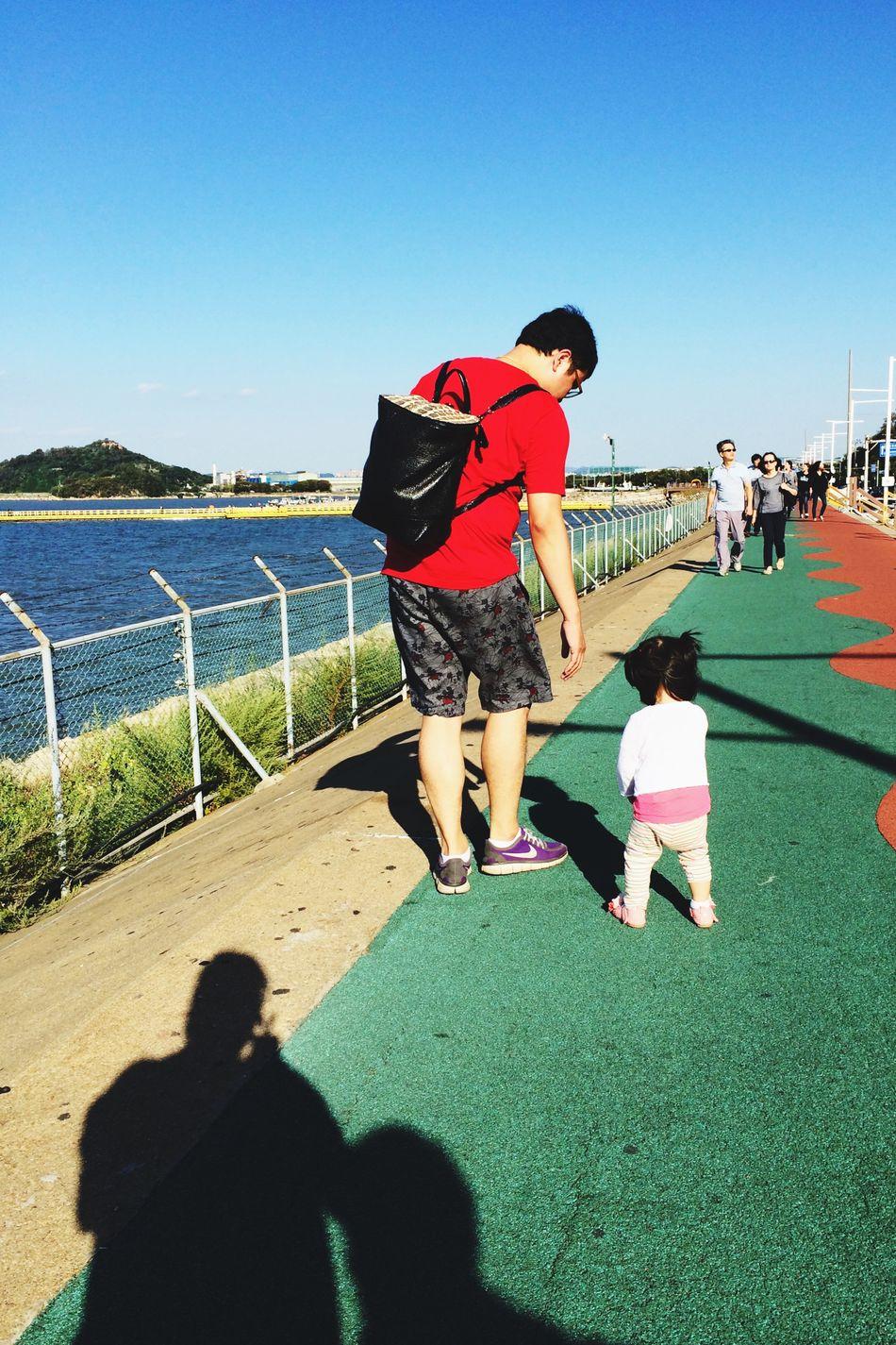 Daddy Daughter Time , Walking Around ShadowMe