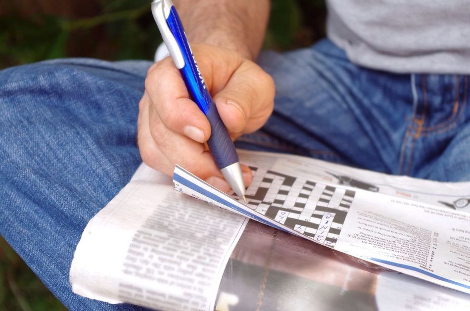 Beautiful stock photos of newspaper, Ballpoint Pen, Day, Focus On Foreground, Holding