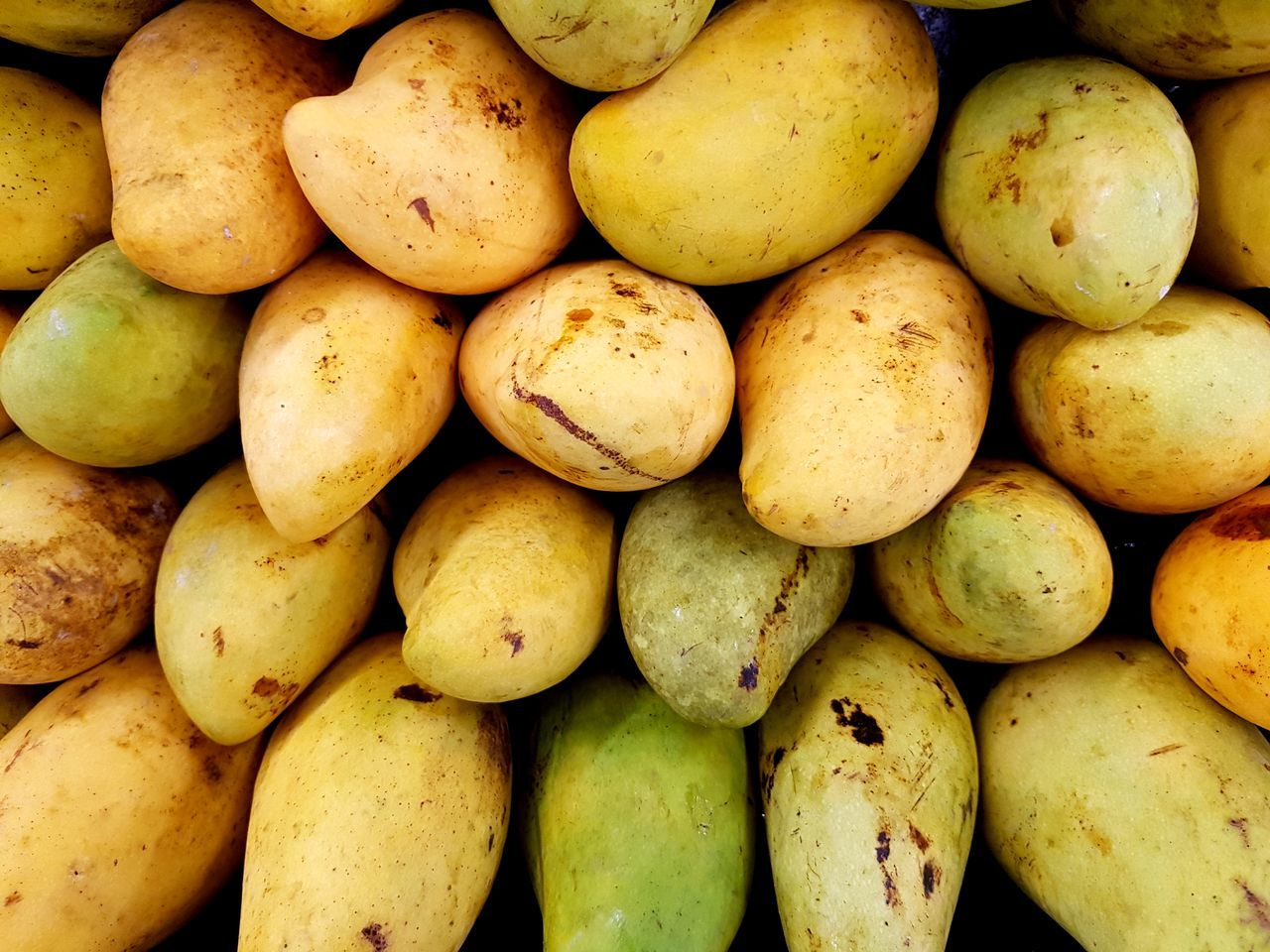 Mangoes Vitamin Agricultural Agronomy Agriculture Organic Market Plants Still Life Nature Healthy Lifestyle Backgrounds Close-up Large Group Of Objects Fruit Food And Drink Healthy Eating