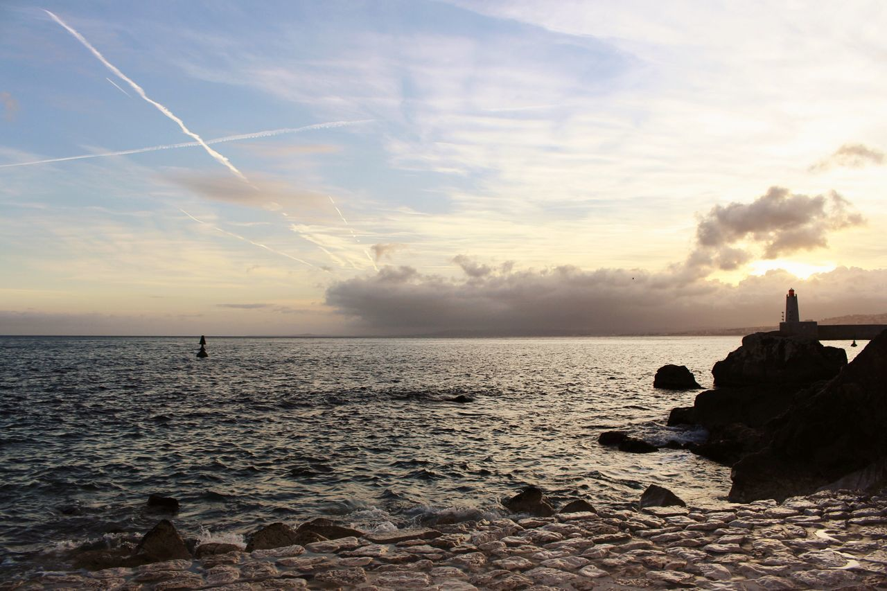 Sea Horizon Over Water Sky Beauty In Nature Nature Water Tranquility Tranquil Scene Cloud - Sky Scenics Beach Day Reflection Colore Art Photography Sunlight Picoftheday Pic Capture Photography Canon