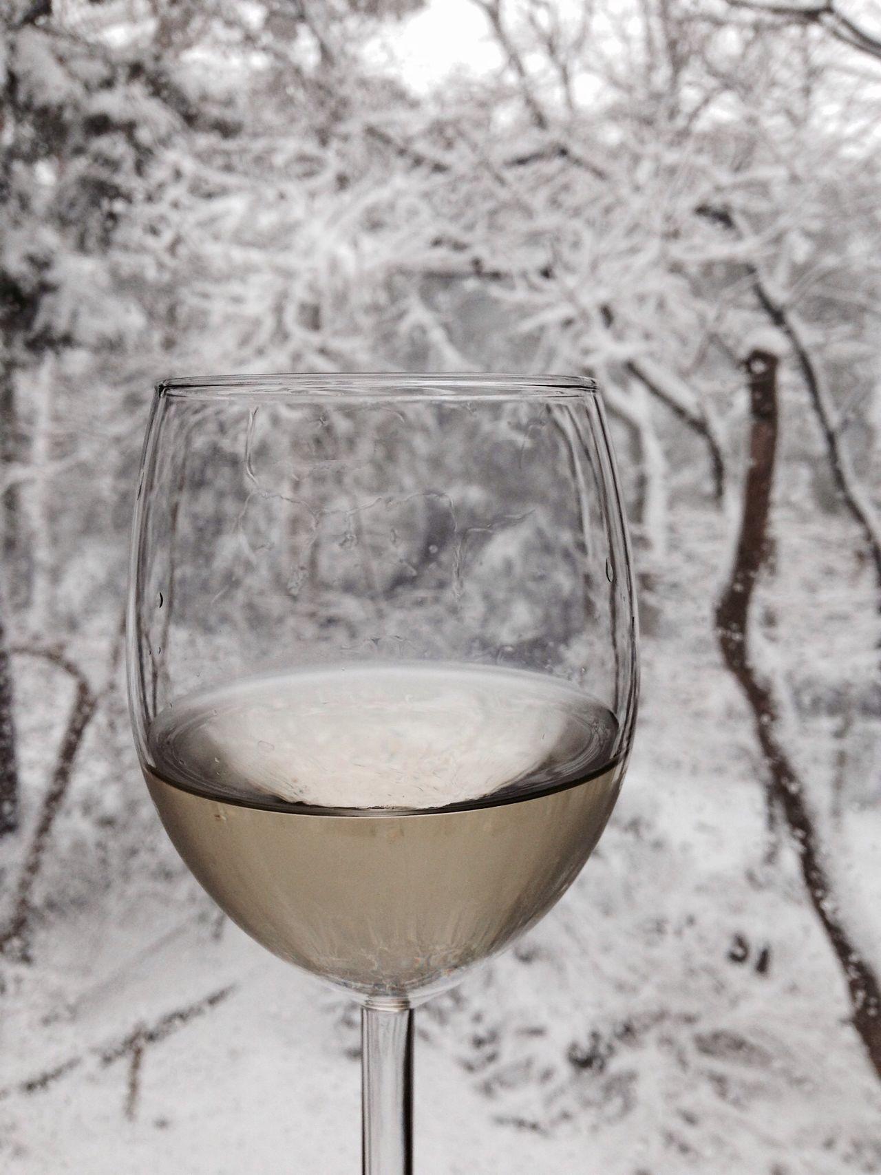 雪見wine♪ Snow Wine IPhoneography