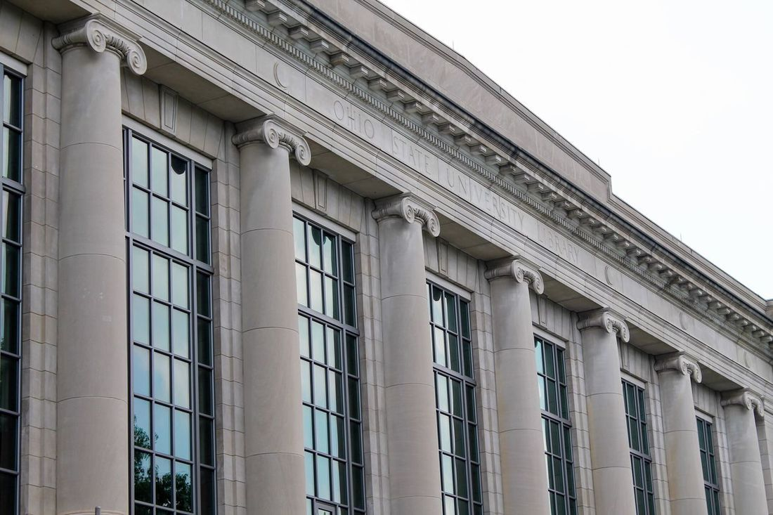 Ohio State University Library Library Architecture Ohio Ohio State University Buckeyes Building Columbus, Ohio