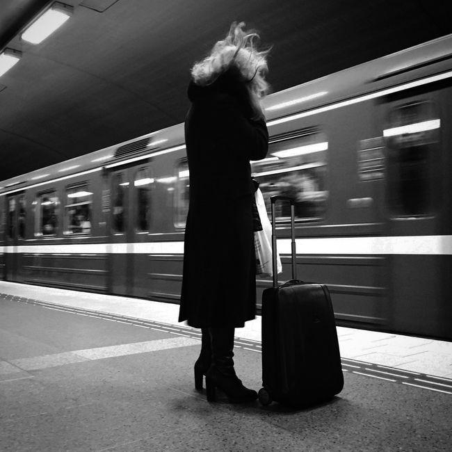EyeEm Best Shots - Black + White Bw_collection Monochrome Subway Blackandwhite