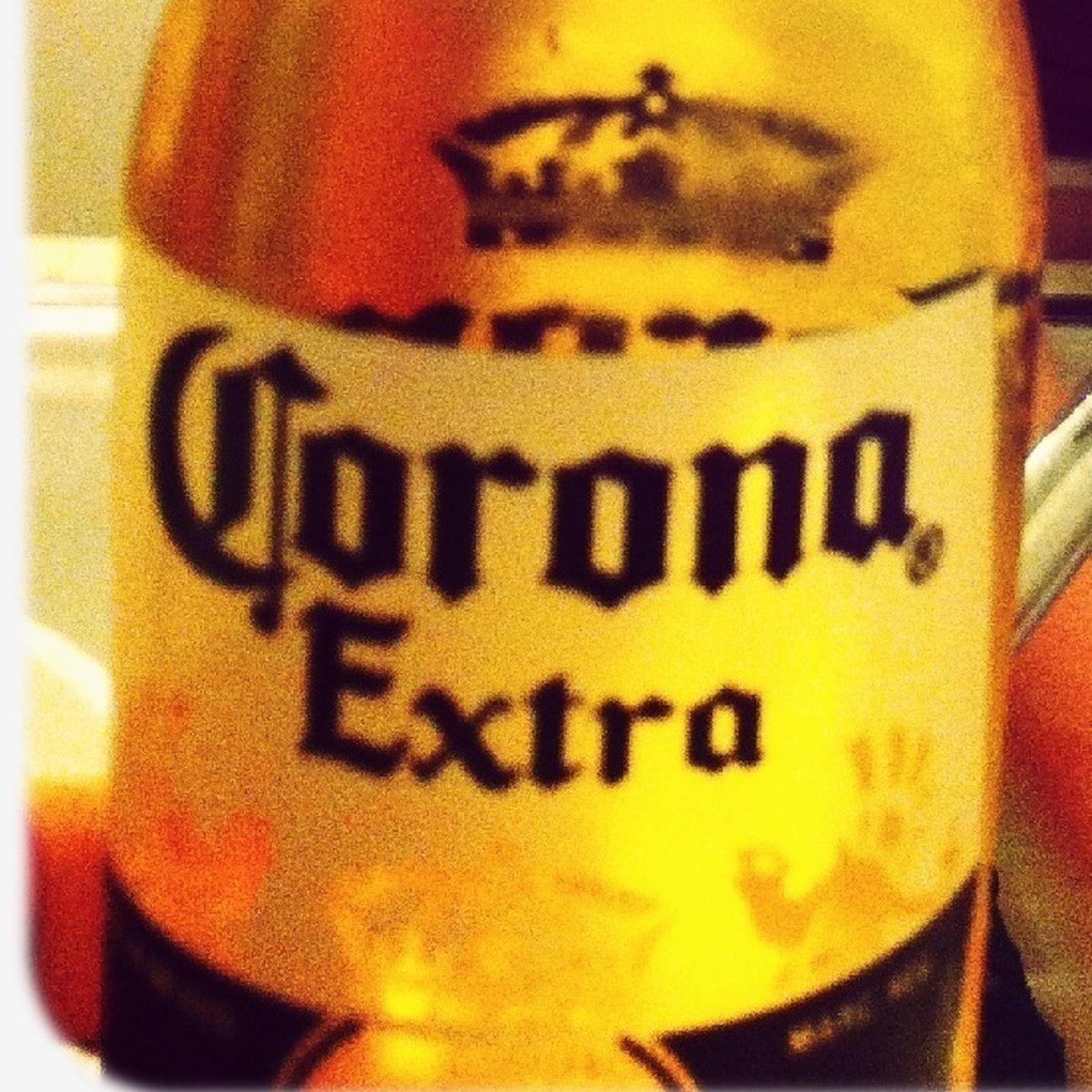 Drinking Corona