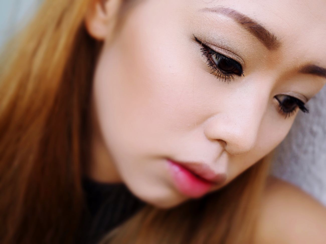 Makeup by me Close-up One Person Real People Make-up Women Human Face People Japanese  Makeupbyme Makeuplovers Makeup ♥ Beauty Looking At Camera Make-up Makeup Photo Makeupartist