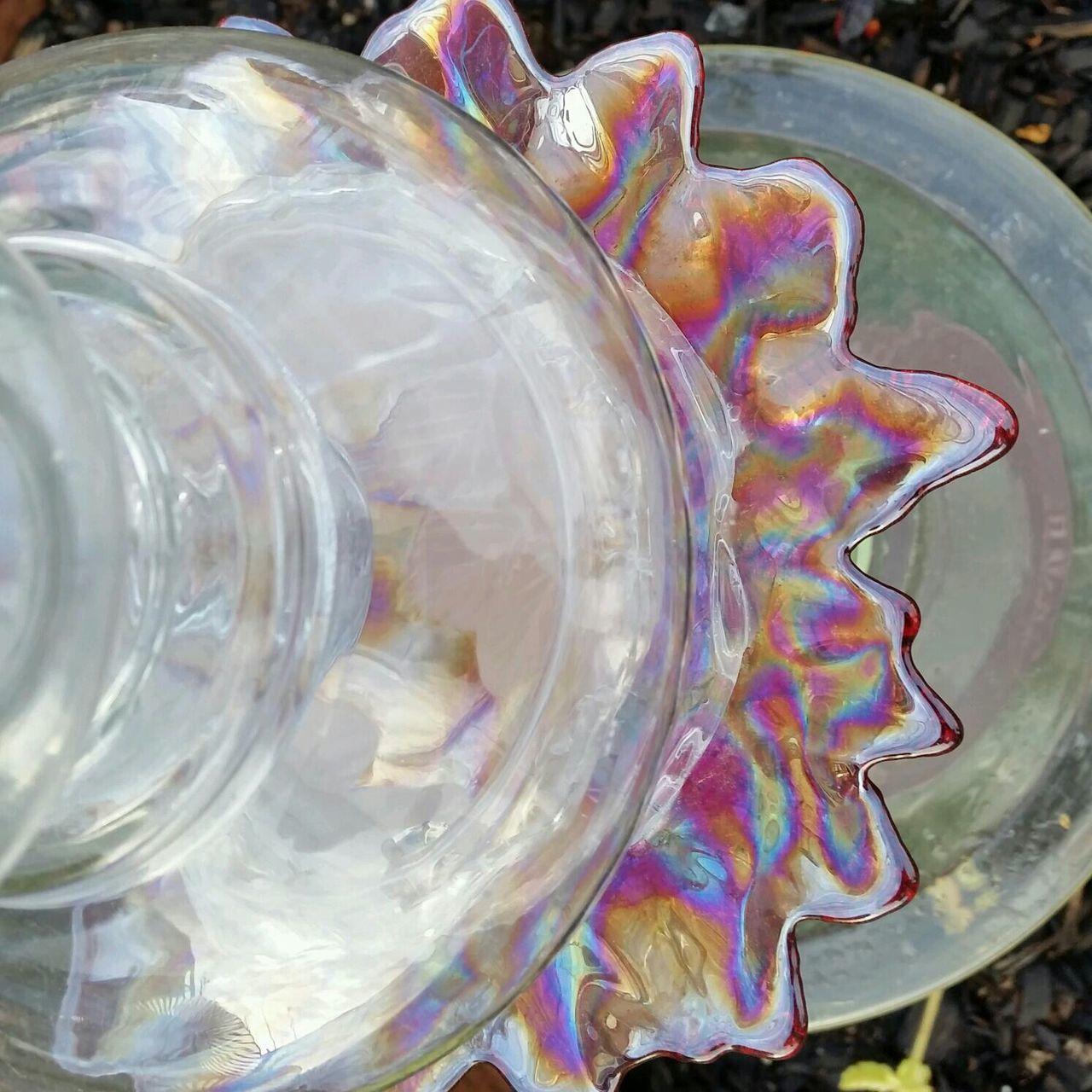 Glass Totem Our Crazy Garden