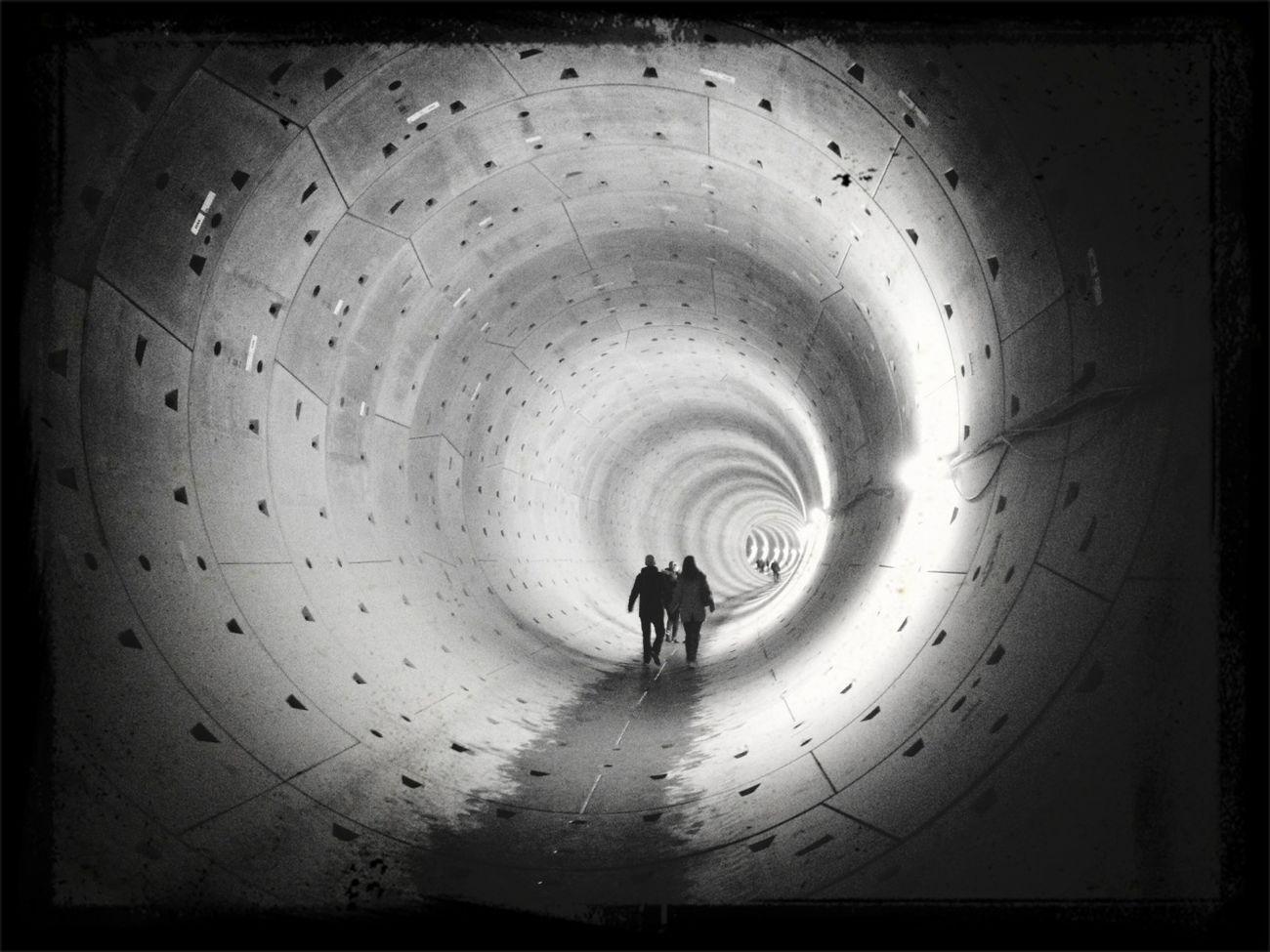Tunnelwandeling