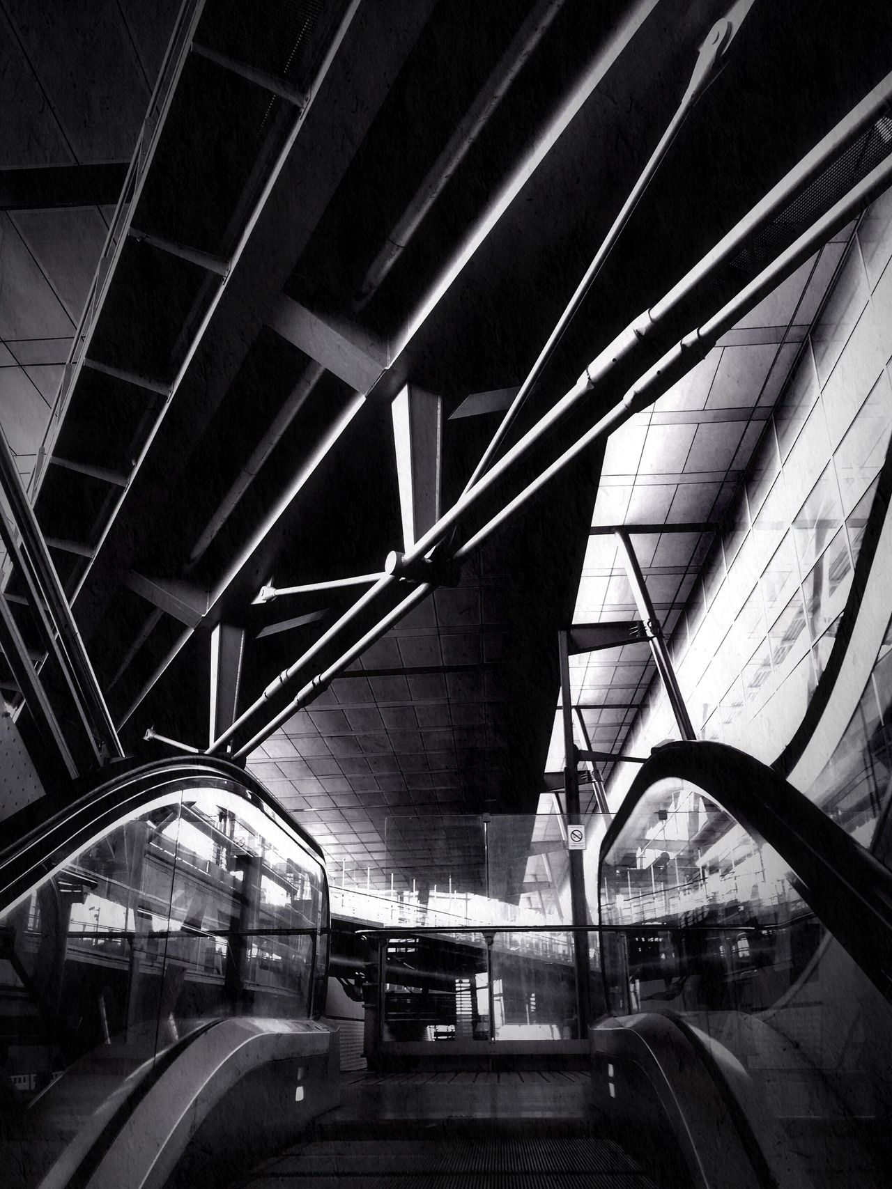 Transportation Built Structure Connection Architecture Indoors  The Architect - 2017 EyeEm Awards Blackandwhite Photography Noir Et Blanc Lines And Shapes